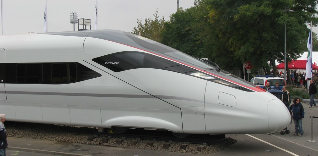 Bombardier Zefiro 380 High Speed Train. (Björn König)