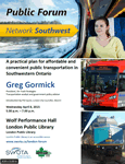 London Network Southwest Public Forum Poster