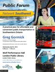 London Network Southwest Public Forum Poster
