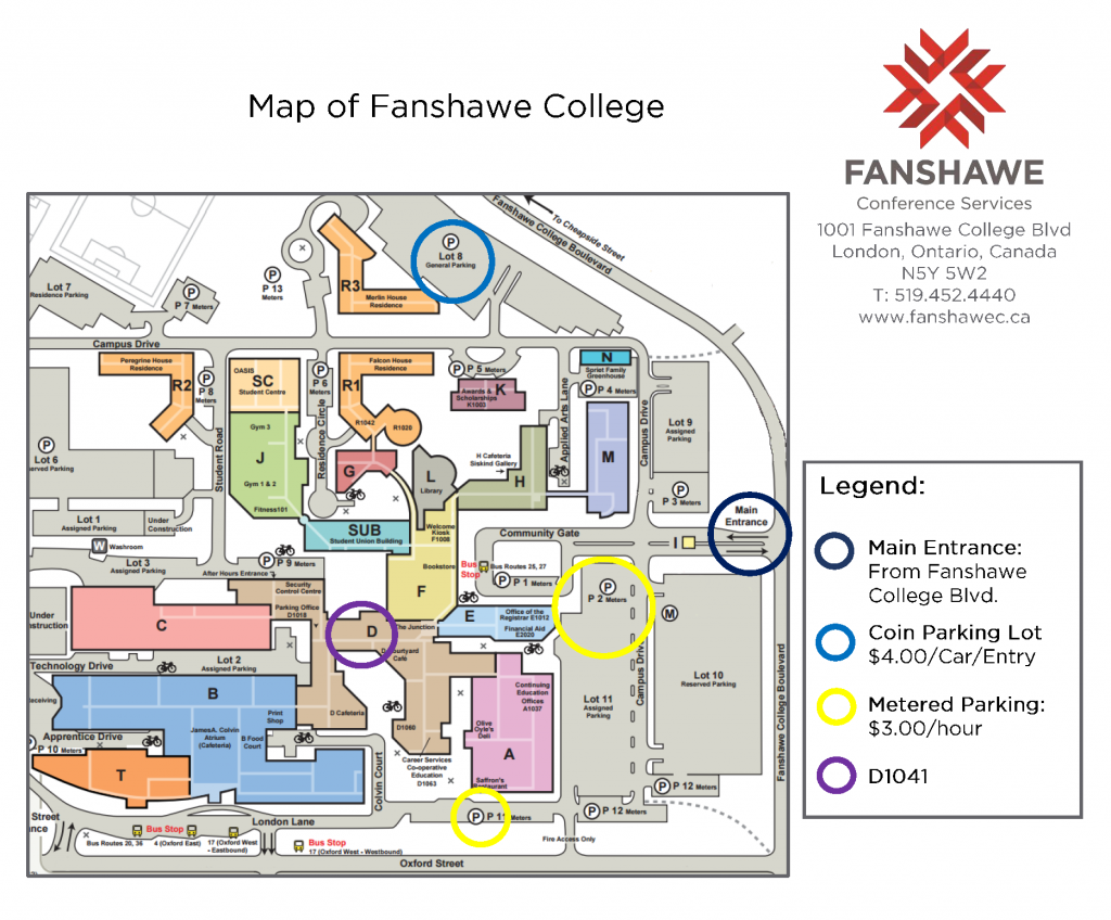 Map - Fanshawe College